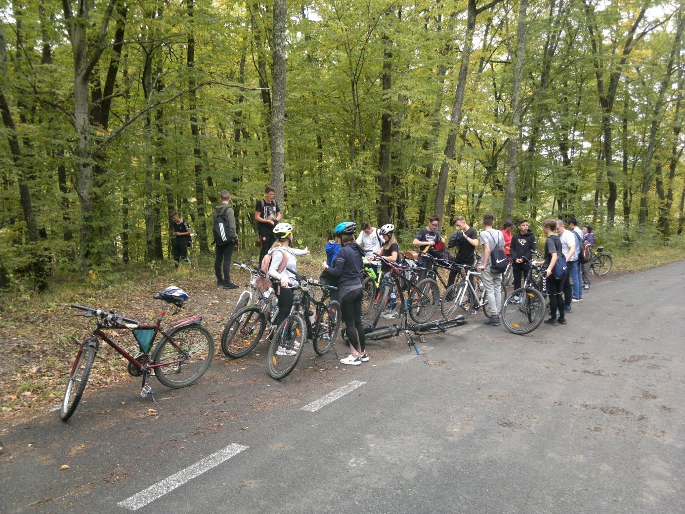 15. Rövid megálló, technikai szünet a Vargyasi - karszt felé vezető úton