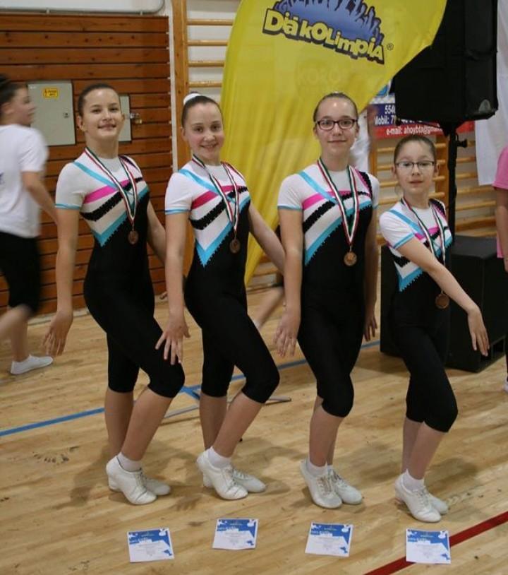 Aerobik sikerek a Diákolimpia Döntőjén