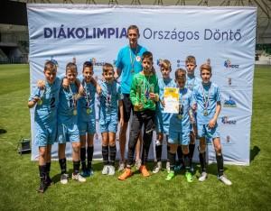 Az Eötvös diákjainak hatalmas sikere a labdarúgó diákolimpia országos döntőjében
