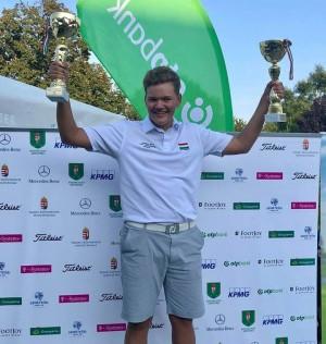 Bálint negyedszer védte meg magyar junior bajnoki címét