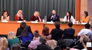 Digitális tér konferencián Karafa Sándor tanár úr