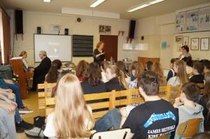 Franciaországból érkeztek színészek iskolánkba