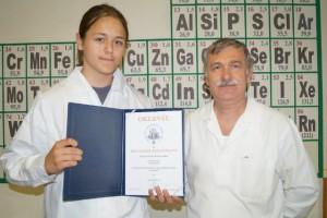 Eötvös siker az országos kémiaversenyen