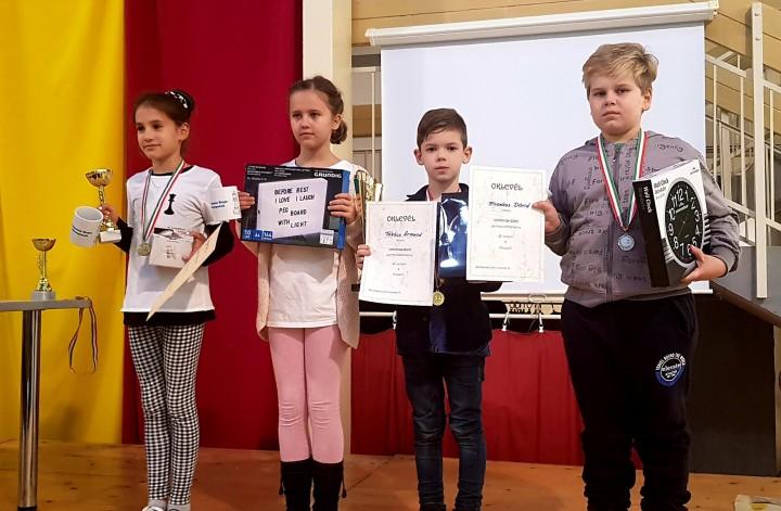 Kiemelkedő versenyeredmény sakkból