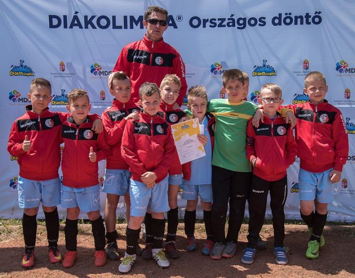 Labdarúgó sikerek az Diákolimpia országos döntőjében!