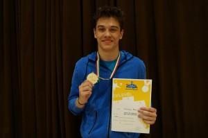 Szép volt Áron! Első helyezés a Diákolimpia országos döntőjében