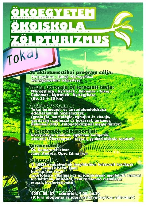 A program figyelemfelhívó és tájékoztató plakátja (Chrien G.)