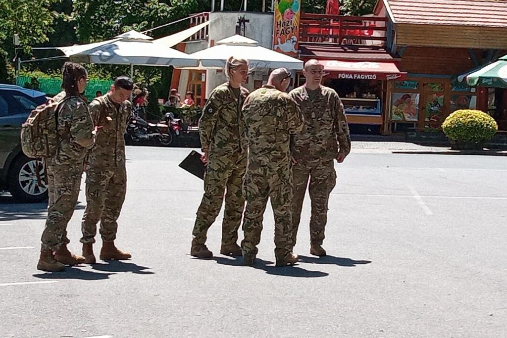 Fotó (20): Rendhagyó honvédelmi nevelés Tokajban (1)