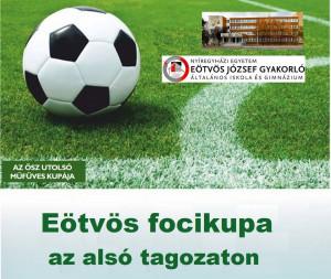 Eötvös focikupa az alsó tagozaton
