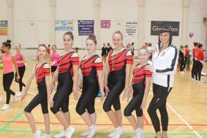 Eötvösös lányok sikerei a makói aerobik diákolimpián