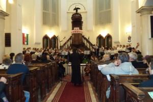 Koncert a református templomban