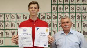 Interjú Orosz Márton Miklóssal, aki újra az ország legjobb tíz kémikusa között!