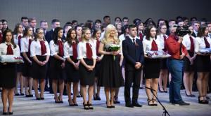 Az Eötvös szalagavatója a Nyíregyházi TV műsorán