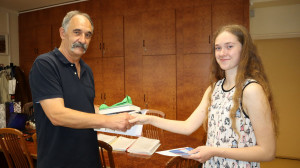 Tanítványunk sikere az Országos Francia Nyelvi Tanulmányi Versenyen