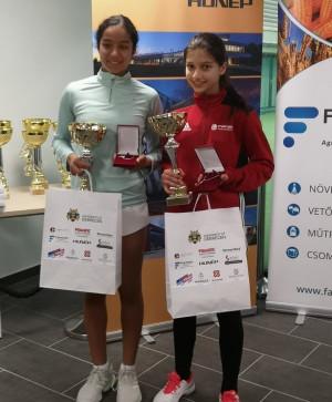 Újabb kiemelkedő, kettős teniszsiker